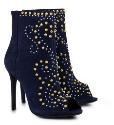 Ankle Boots Turn Of The Century Tachas Azul