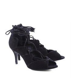 Sandália Salto Médio Black