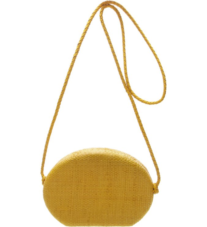 Clutch Trendy Golden Yellow