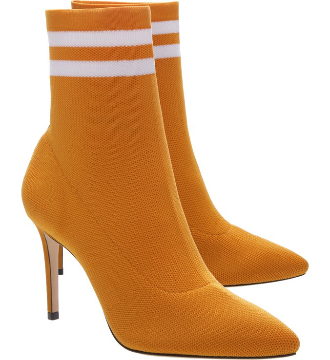 Gisela Sock Booties Yellow