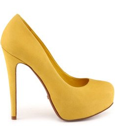 Scarpin  Cyber Yellow