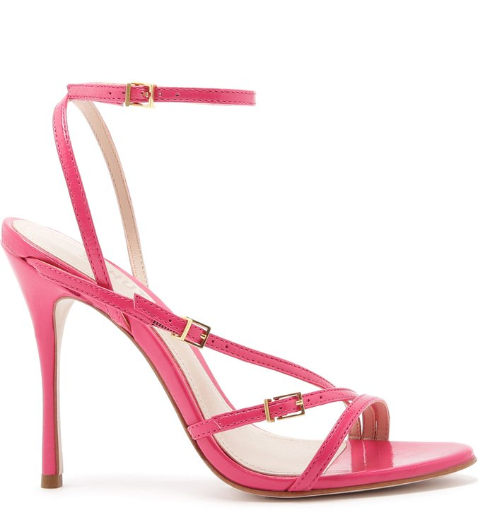 Sandália Strings Buckles Pink | Schutz