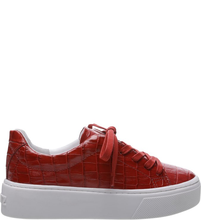 15673b6a7ba Tênis S-High Croco Red