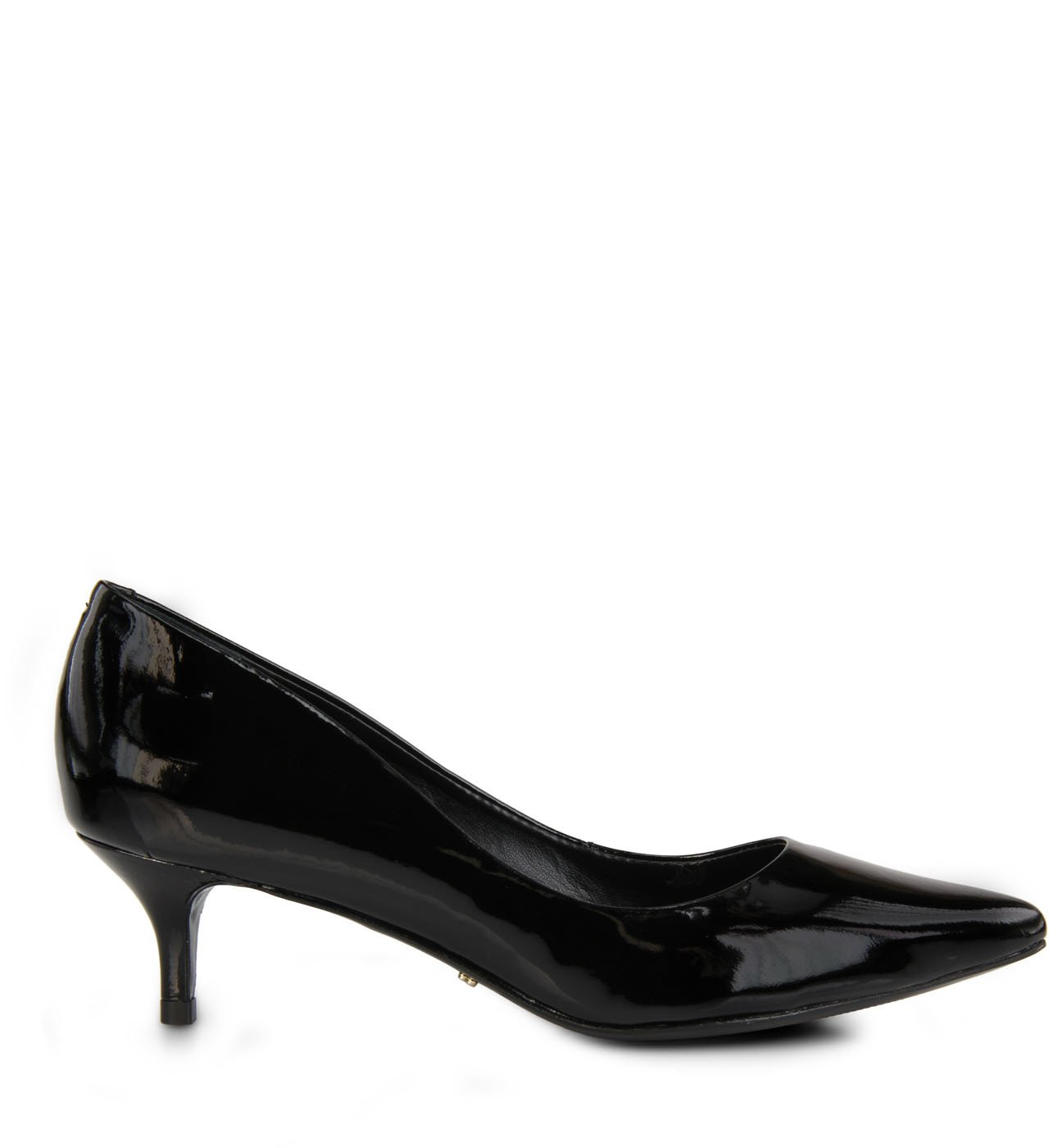 Scarpin Kitten Heel Black
