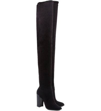 Maxi Over The Knee Boots Black
