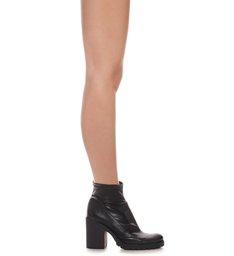 Combat Boots Sola Tratorada Skinny Black