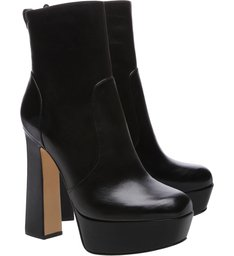 Ankle Boot Meia Pata Bold Black