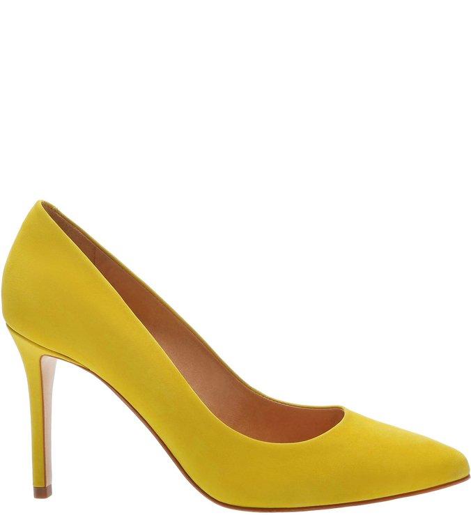 Scarpin Classic Nobuck Yellow