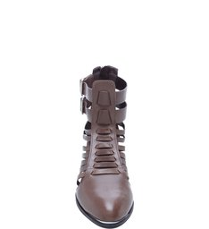 Ankle Boot Tiras Mineral Gray