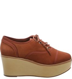 Oxford Flatform Rust Brown