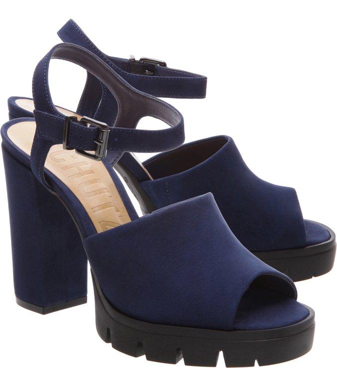 Sandália Tratorada Dress Blue