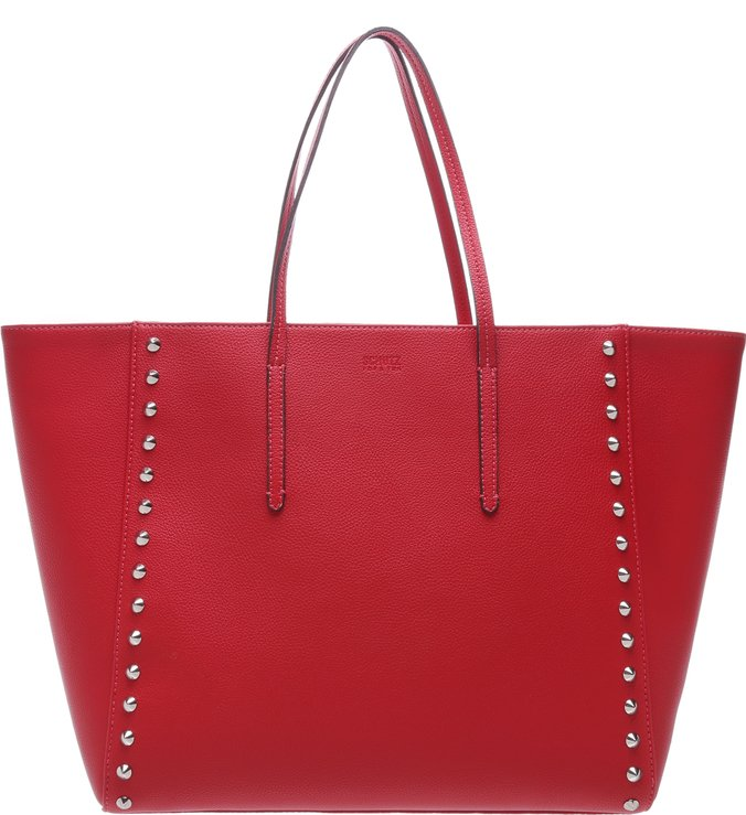 Maxi Tote Studs Red