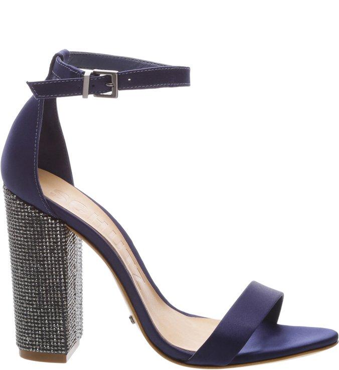 Sandália Satin Dress Blue