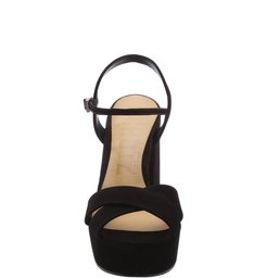 Sandália Salto Bloco Trendy Black