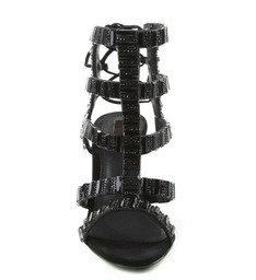 Sandália Metallic Black