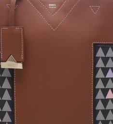 Tote Soft Triangle Black