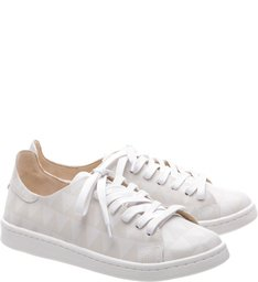 Shoes Schutz Stamp - Tênis Triangle White