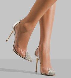 Scarpin Crystal Glam
