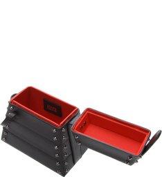 New Bucket Bag Lola Box Studs Black