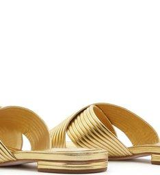 Slide Cross Full Strap Golden