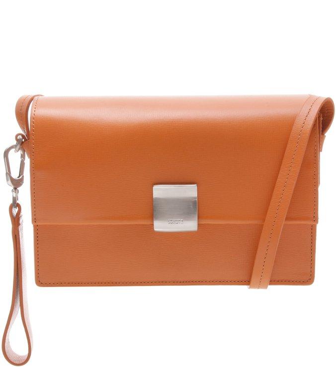 Shoulder Bag Minimal Ocre