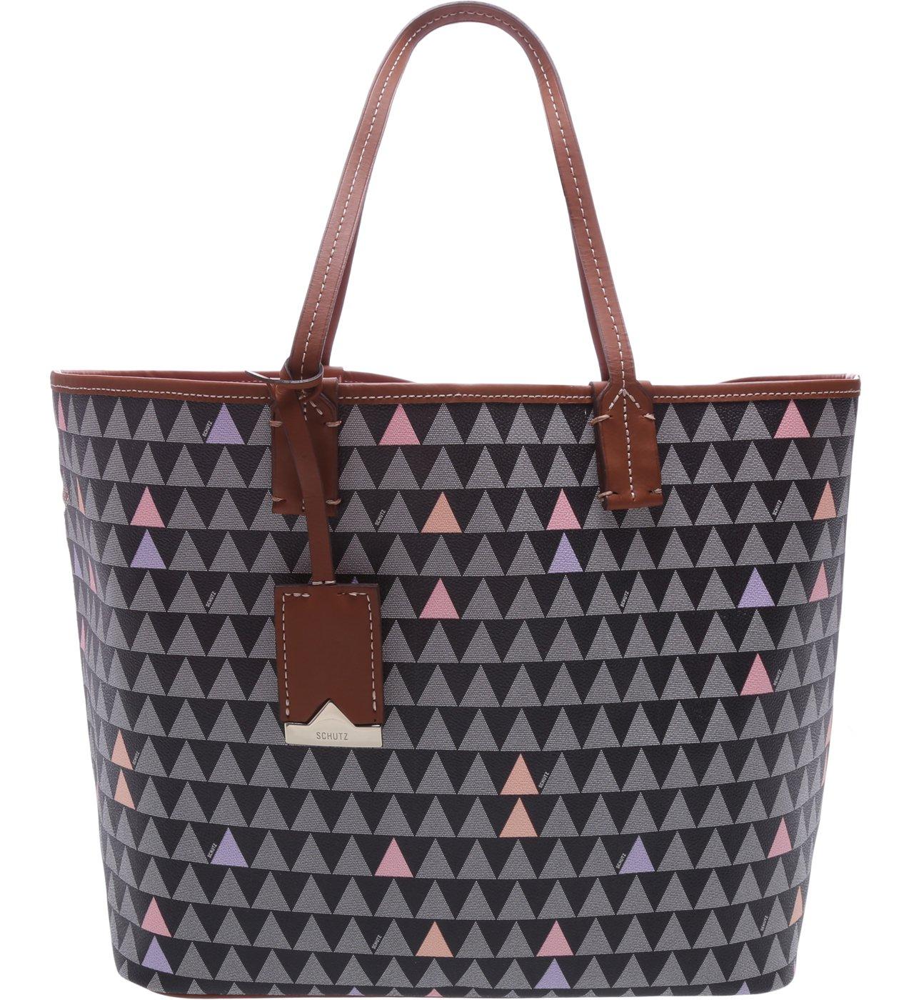 Shopping Bag Nina Triangle Black