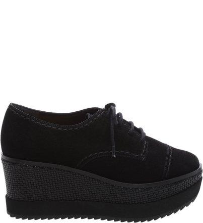 Oxford Flatform Double Black