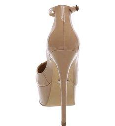 Scarpin Sexy Heels Amendoa