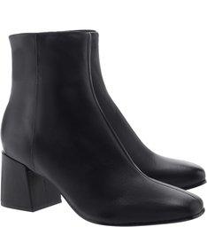 Bota Block Heel Black