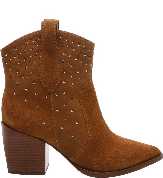 New Western Boot Studs Brown | Schutz