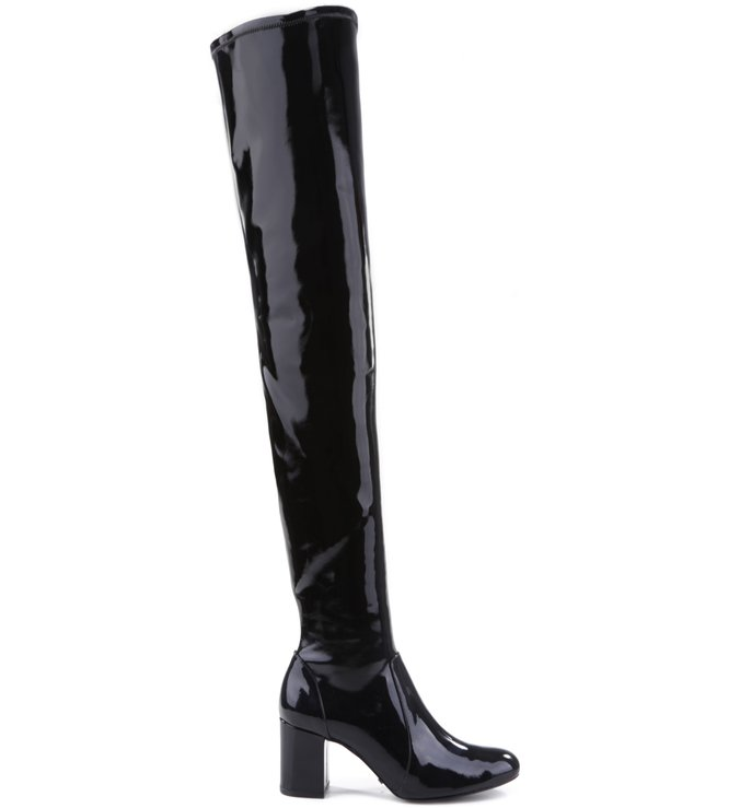 c74343363 Bota Maxi Over The Knee Verniz Black | Schutz