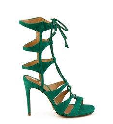Sandália Gladiadora Verde