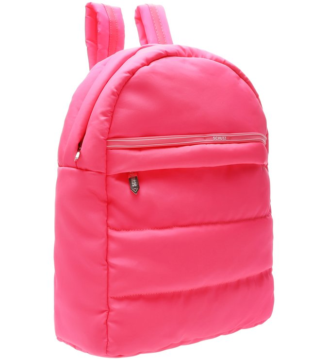 Mochila Fluffy Neon Pink