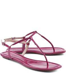 Rasteira Tiras Finas True Pink