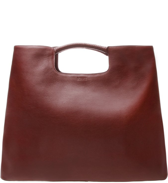 Maxi Hobo Dara Leather Vinho