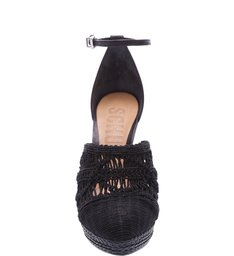 Espadrille Embroidery Black