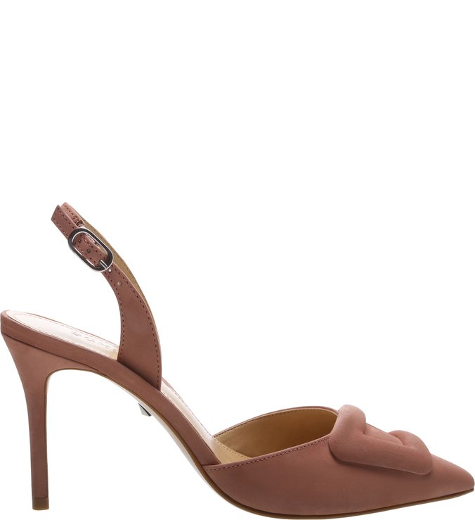 Scarpin Slingback Buckle Neutral