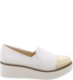 Flatform Slip On White