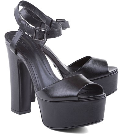 Sandália 70'S  Black