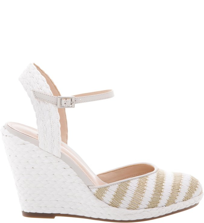 Espadrille Navy Natural/White/Pearl