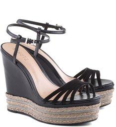 Sandália Stripes Black