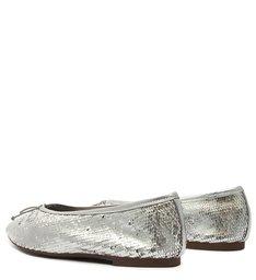 Sapatilha Pointy Silver