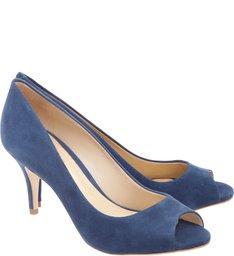 Peep Toe Girlie Steel Blue