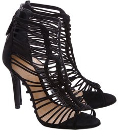 Sandália Multistraps Black