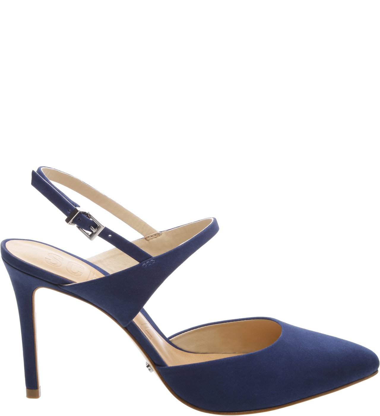Scarpin Slingback Dress Blue | Schutz