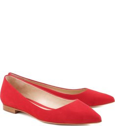 Sapatilha Bico Fino Summer Red