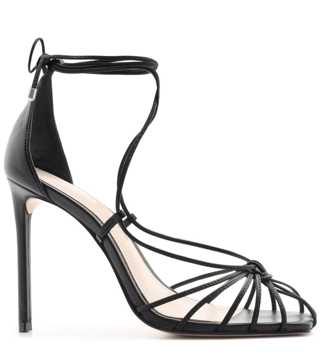 Sandália Strings Lace-Up Black | Schutz