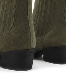 Chelsea Boot Suede Green