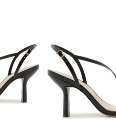 Sandália Curves Vintage Mid Heel Black