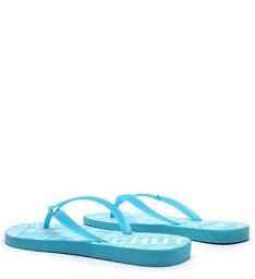 Flip Flop Logo Azul